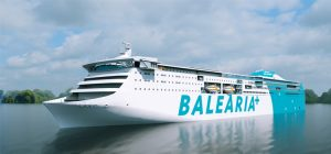 The new 'cruise ferry' Baleària will have four Wärtsilä gas engines
