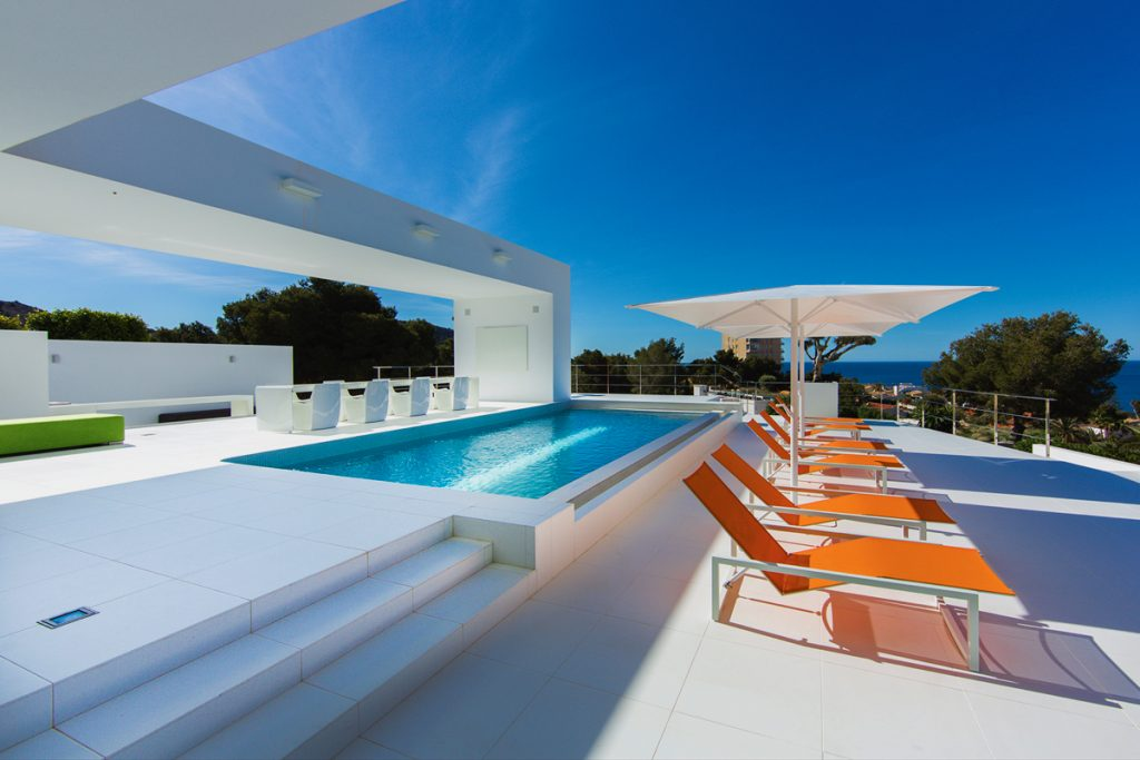 New construction luxury houses in Moraira, a booming sector due to teleworking