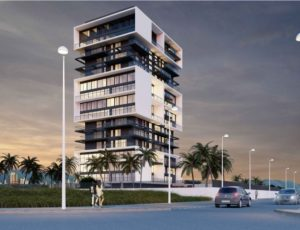 Sunrise Tower, new construction apartments in Calpe