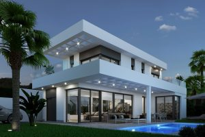 Beren Hills Villas, Luxury villas for sale in Sierra Cortina, Costa Blanca Finestrat-Benidorm