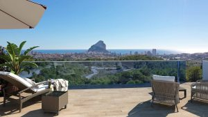Real de Ifach modern new construction apartments for sale in Calpe
