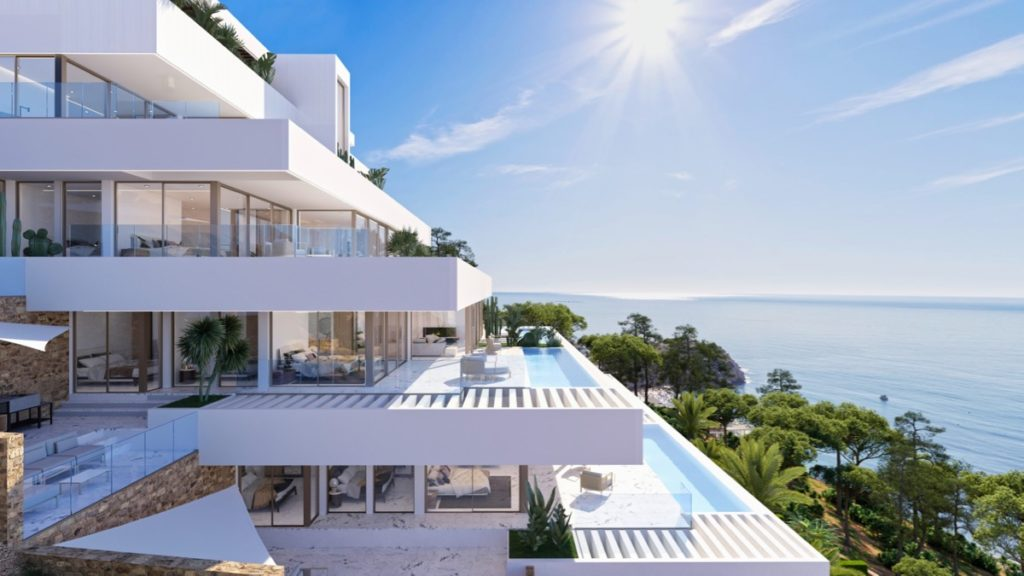 Panorama Bay luxury penthouses Altea, Costa Blanca