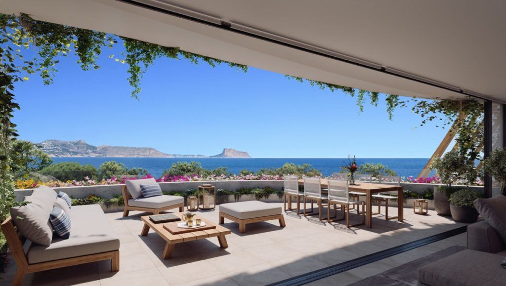Delfin Natura, promotion of luxury apartments in Albir Beach
